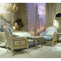 Royal Cinderella Master Bedroom Set from our Venetian modern classic collection 7032