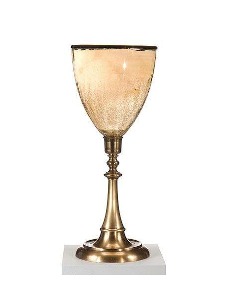 Decorative Accessories High Quality Furniture Glass Brass Hurricane