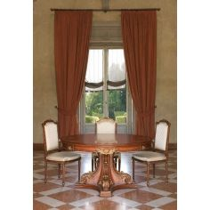 Classic High End Round Table from our European hand painted furniture collection. 7107