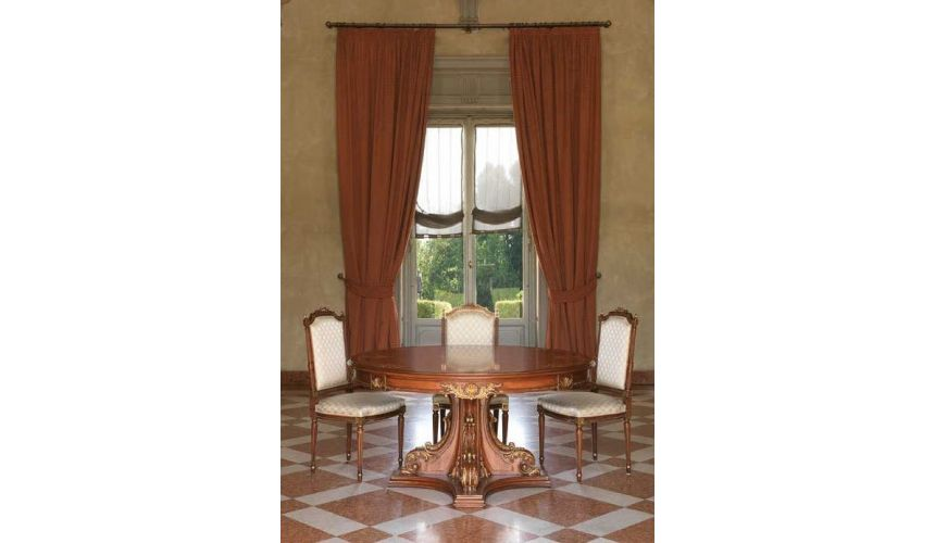 Dining Tables Classic High End Round Table from our European hand painted furniture collection. 7107