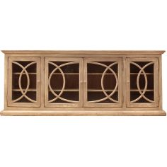 4 Door Fretwork Cabinet