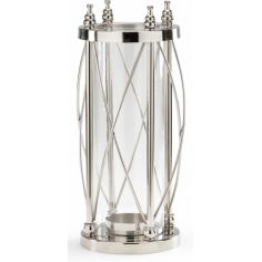 Hurricane Style Pillar Candle Stand