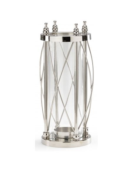 Decorative Accessories Hurricane Style Pillar Candle Stand