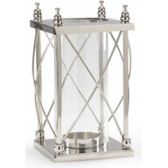 Polished Nickel Lamp Cage