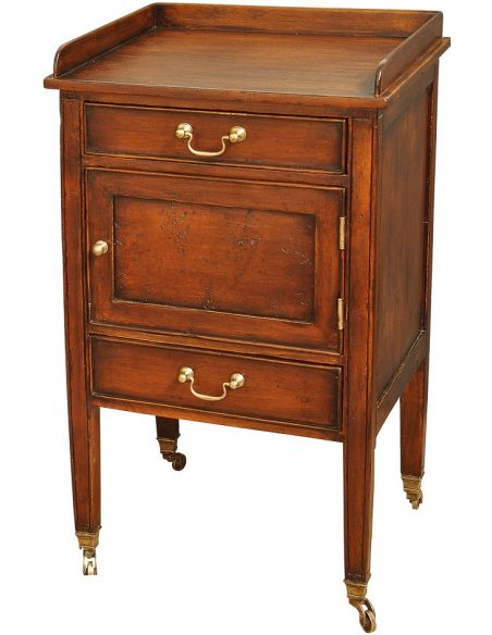 LUXURY BEDROOM FURNITURE 3 Drawer Nightstand