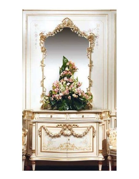 Dressing Vanities & Furnishings Luxurious Fairytale Sideboard from our European hand painted furniture collection. 7229
