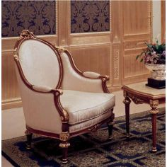 Elegant Pearl Armchair from our European hand painted furniture collection. 7249