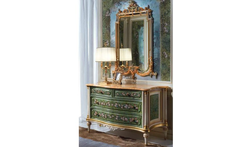 Chest of Drawers High End Jungle Gem Chest of Drawers from our European hand painted furniture collection. 7253