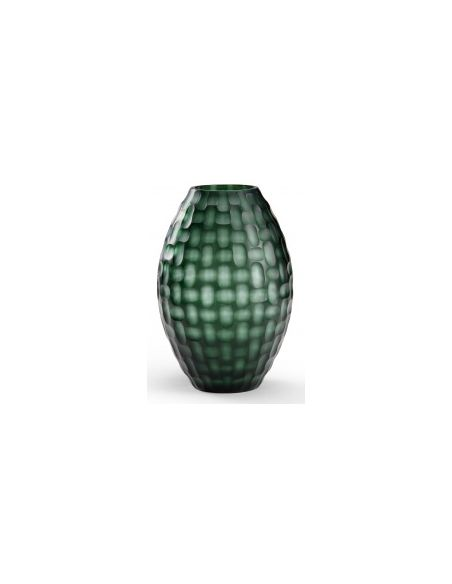 Decorative Accessories Basket Weave Styled Vase