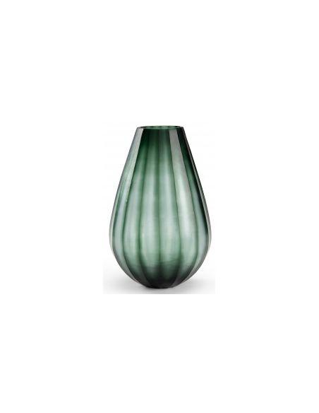Decorative Accessories Pod Vase In Striped Pattern