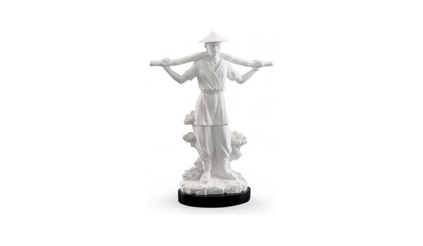 Decorative Accessories Plaster Finish White Paradigm