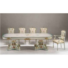 Wonderland Tea Party Dining Set from our European hand painted furniture collection. 7268
