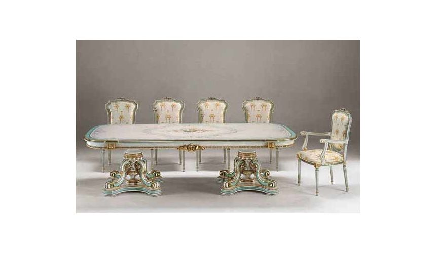 Dining Tables Wonderland Tea Party Dining Set from our European hand painted furniture collection. 7268