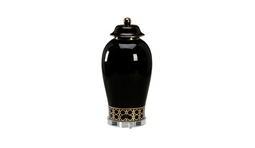 Decorative Accessories Washington Scroll Shaped Urn (Lg)