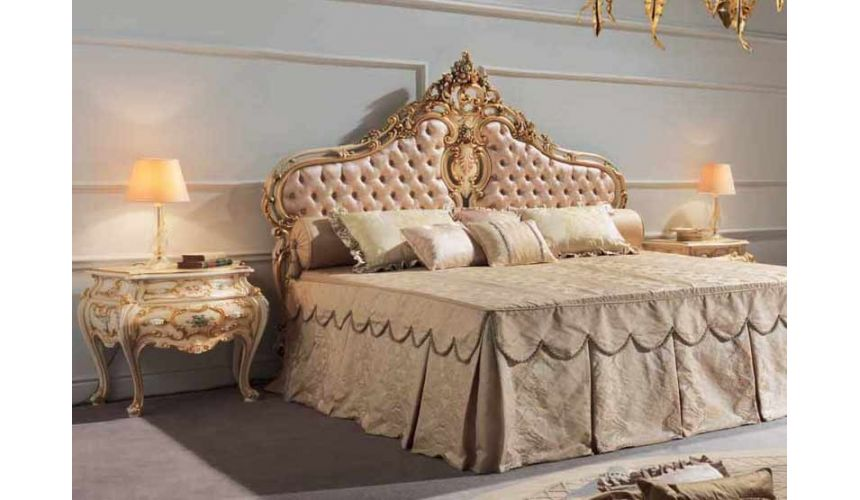 Luxury Bedroom Furniture Beautiful and Luxurious Princess Bed Set from our European hand painted furniture collection. 7275