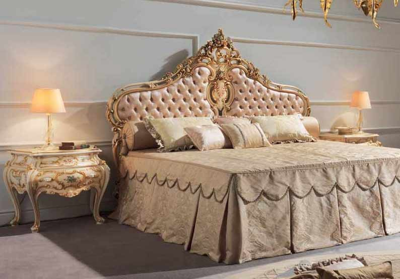 Beautiful and Luxurious Princess Bed Set from our European hand painted  furniture collection. 7275