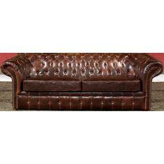 Tufted Leather Sofa