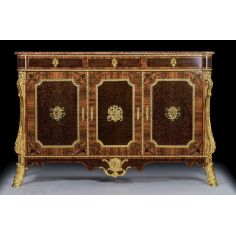 Luxurious Wooden Cabinet with Golden Detailing from our furniture showpiece collection. 7325