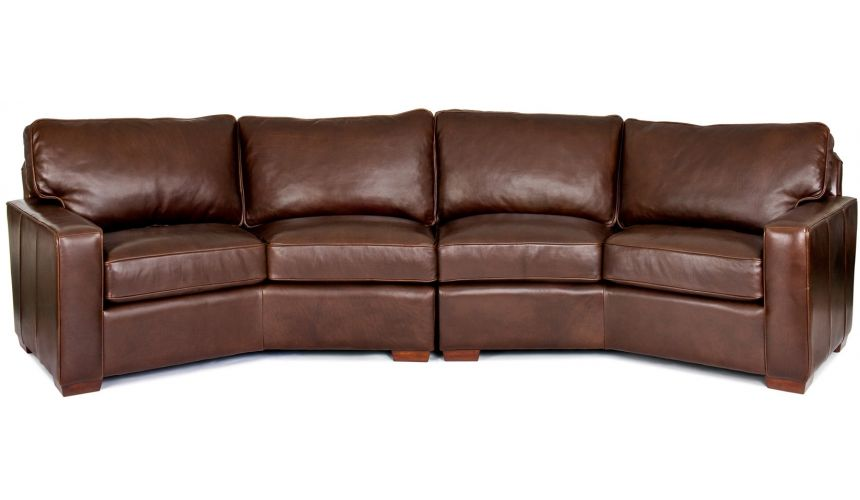 SECTIONALS - Leather & High End Upholstered Furniture Garvey Sectional Sofa