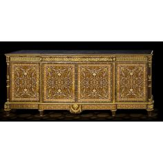 Beautifully Patterned Dulce de Lece Colored Sideboard from our furniture showpiece collection. 7337