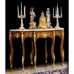 Elegant Louis XV Style Trolley Consolle from our furniture showpiece collection. 7341