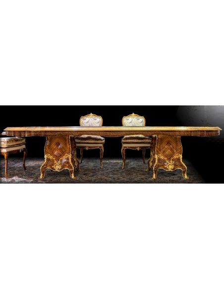 Dining Tables Gorgeously Patterned Rosewood Dining Table from our furniture showpiece collection. 7342
