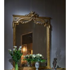 Luxuriously Detailed Golden Mirror from our furniture showpiece collection. 7352