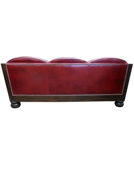 Western Furniture Deluxe Rose at Dusk Sofa from our handcrafted Wild West furniture collection. 7380