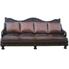 Deluxe Texas Styled Mateo Sofa from our hand crafted Wild West furniture collection. 7381