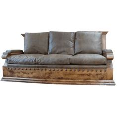 High End Rustic Desert's First Rain Sofa from our handcrafted Wild West furniture collection. 7382