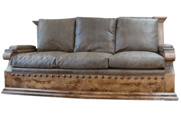 High End Rustic Desert\'s First Rain Sofa from our handcrafted Wild ...