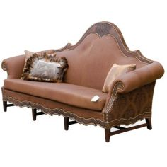 High End Desert Sunrise Sofa from our handcrafted Wild West furniture collection. 7384