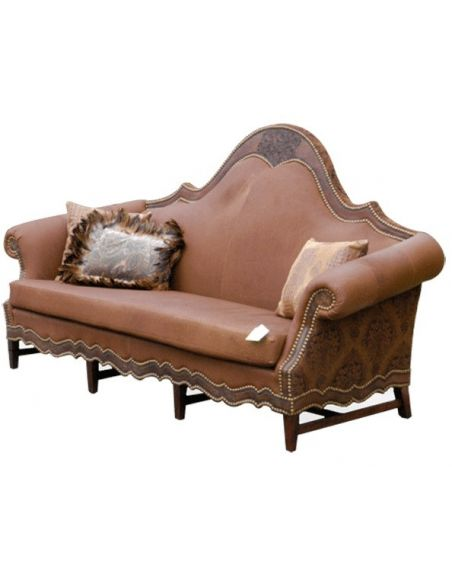 Western Furniture High End Desert Sunrise Sofa from our handcrafted Wild West furniture collection. 7384
