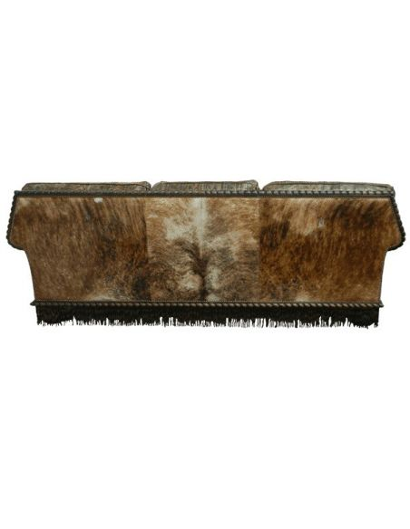 Western Furniture Gorgeous and Dark Western Styled Sofa from our handcrafted Wild West furniture collection. 7387