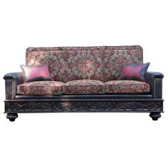 Deluxe Garden of the Desert Sofa from our handcrafted Wild West furniture collection. 7393