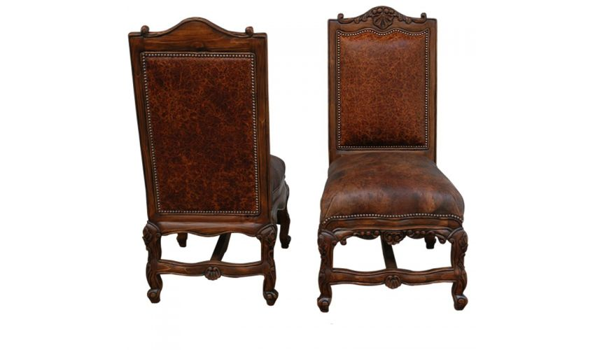 Dining Chairs Luxe Spanish Colonial Styled Chair Jovena from our handcrafted Wild West furniture collection. 7395