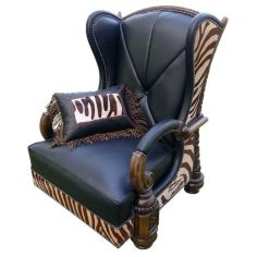 Deluxe La Kesara Kingdom Armchair from our handcrafted Wild West furniture collection. 7405