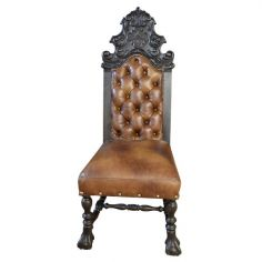 Beautifully Detailed Desert Sands Chair from our handcrafted Wild West furniture collection. 7417