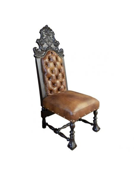 Dining Chairs Beautifully Detailed Desert Sands Chair from our handcrafted Wild West furniture collection. 7417