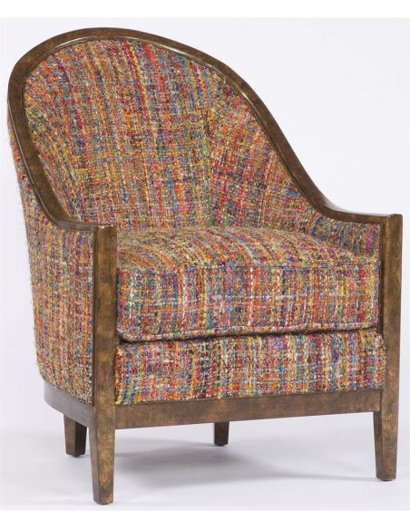Modern Furniture Multicolor Upholstered Chair