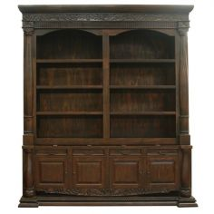 Dolores Wide Solid Bookcase from our hand crafted Wild West furniture collection. 7432