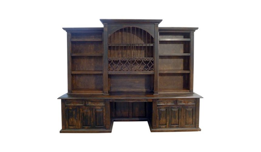 Bookcases Classical Stallion Bureau Bookcase from our hand crafted Wild West furniture collection. 7435