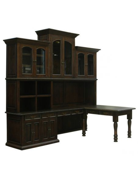 Bookcases Classically Rustic Mocha Bookshelf Adan from our handcrafted Wild West furniture collection. 7437
