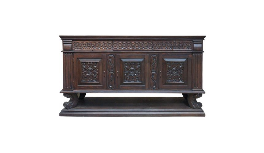 Console & Sofa Tables Luxuriously Detailed Inez Credenza from our handcrafted Wild West furniture collection. 7464