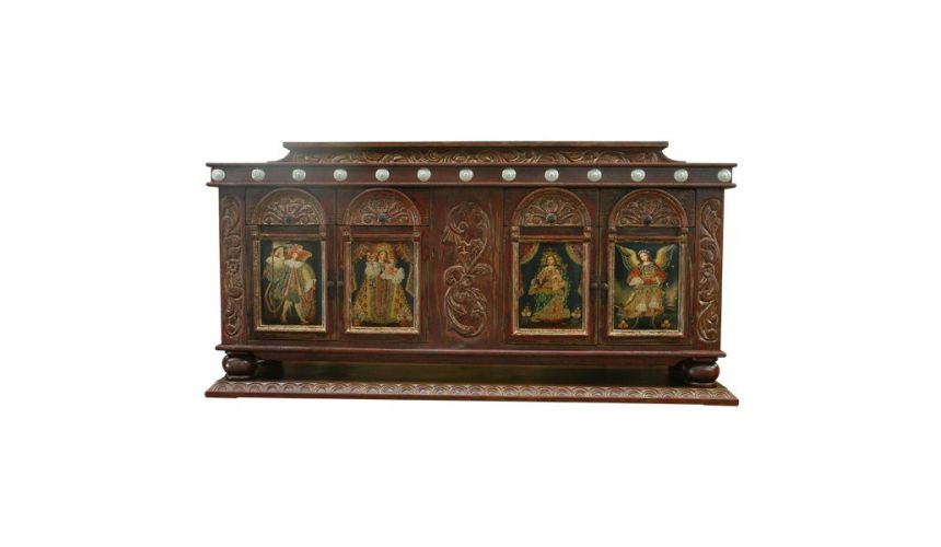Console & Sofa Tables Luxurious Abhirati Custom Built Credenza from our handcrafted Wild West furniture collection. 7466