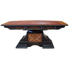 Deluxe Adobe Colored Dining Table from our handcrafted Wild West furniture collection. 7470