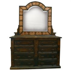Western Rustic Styled Octavio Dresser from our handcrafted Wild West furniture collection. 7473