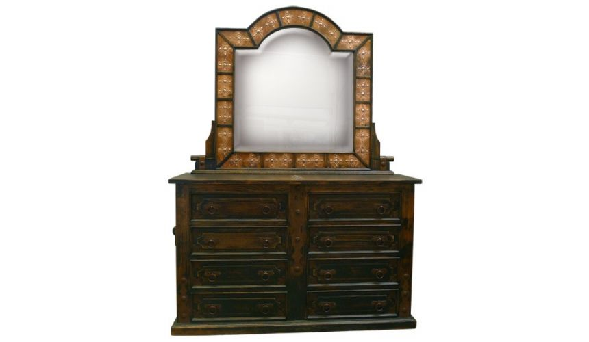 Dressing Vanities & Furnishings Western Rustic Styled Octavio Dresser from our handcrafted Wild West furniture collection. 7473