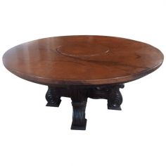 Classic High End Round Table Rivera from our handcrafted Wild West furniture collection. 7476