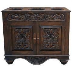 Beautifully Detailed Wooden Cabinet Diego from our handcrafted Wild West furniture collection. 7481